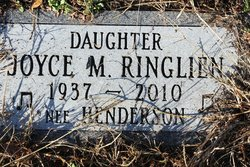 "Joyce M ""Nee"" <I>Henderson</I> Ringlien"