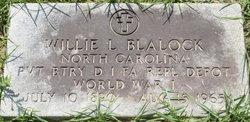 Willie L. Blalock