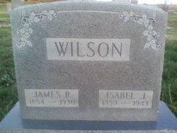 Isabel or Isabella Jane <I>Dunlap</I> Wilson