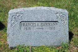 Frances A. Hammann