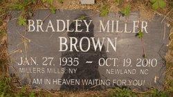"Bradley Miller ""Brad"" Brown"