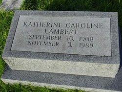 Katherine Caroline Lambert