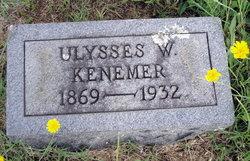 Ulysses Washington Kenemer