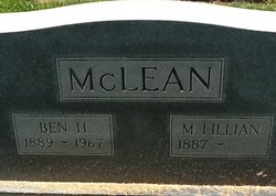 Mildred Lillian <I>Bryan</I> McLean