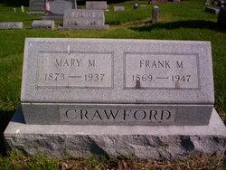 Mary M <I>Huff</I> Crawford