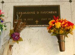 Geraldine <I>Daigle</I> Faucheux