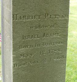 Harriet <I>Putnam</I> Adams