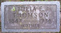 Julia Elizabeth <I>Patterson</I> Thomson