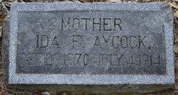 Ida Frances <I>Aycock</I> Barden Wiggs