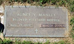 Agnes Virginia <I>Funk</I> Manley