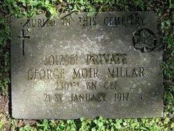Pvt George Moir Millar