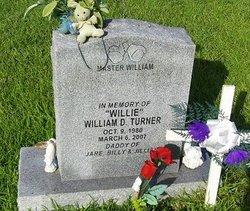"""William D """"Willie"""" Turner"""