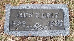 "John Carlysle ""Jack"" Cole"