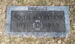 John M Taylor