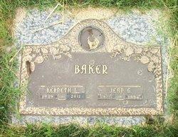 Jean G Baker
