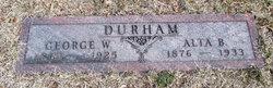 George W Durham