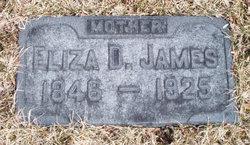 Eliza D James