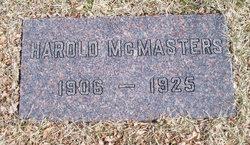 Harold McMasters