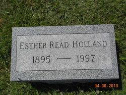 Esther <I>Read</I> Holland