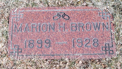 Marion H Brown