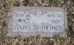 Hazel D Owings