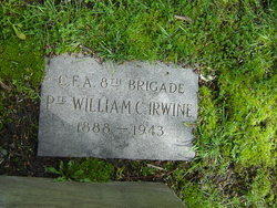 Pvt William C. Irwine