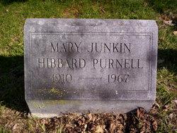 Mary Elizabeth <I>Junkin Hibbard</I> Purnell