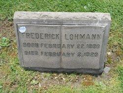 Frederick Lohmann