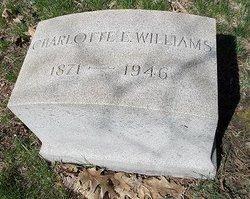 "Charlotte ""Shasha"" <I>Ellis</I> Williams"