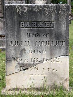 Sarah <I>Belcher</I> Hobart