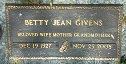 Betty Jean Givens