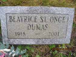 Bernice <I>St. Onge</I> Dumas