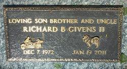 Richard B Givens, II