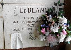 Hazel <I>LeBoeuf</I> LeBlanc