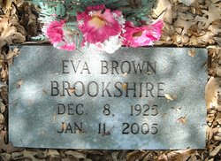 Eva Brown Brookshire