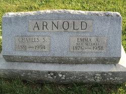 Emma A. <I>Merkel</I> Arnold