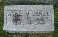 Annie M <I>Day</I> Daniel