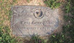 Kate <I>Carr</I> Belew