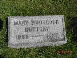 Mary <I>Woodcock</I> Buttery