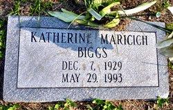 "Katherine Arceneaux ""Katie"" <I>Maricich</I> Biggs"