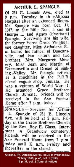 Arthur L. Spangle