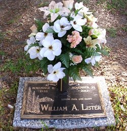 "William Alfred ""Billy"" Lister, Sr"