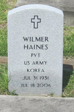 Pvt Wilmer Haines