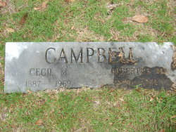 Cecil M Campbell