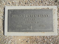 Philip Cotter Barry