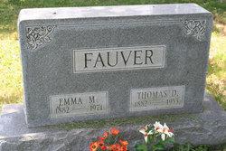 Emma M. <I>Bates</I> Fauver