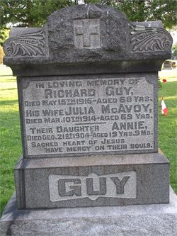 Elizabeth Julia <I>McAvoy</I> Guy