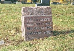 Josephine <I>Eisele</I> Acker