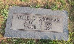Nellie G Showman