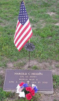 Harold C Heiden